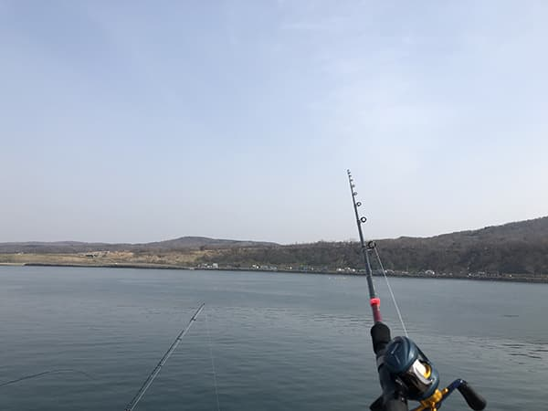増毛港で春のホッケ釣り06
