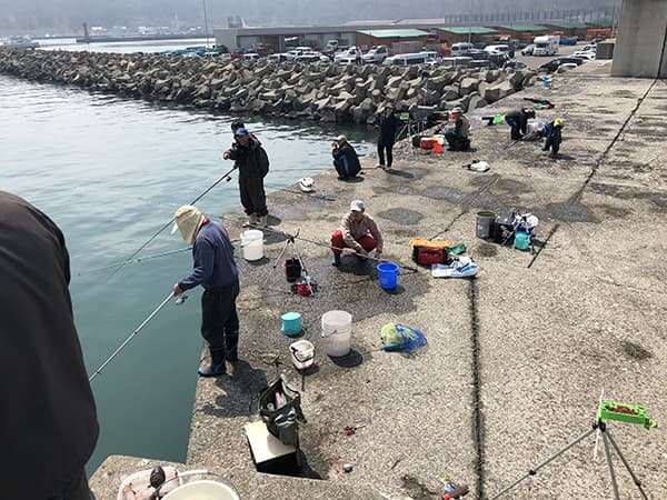 増毛港で春のホッケ釣り07