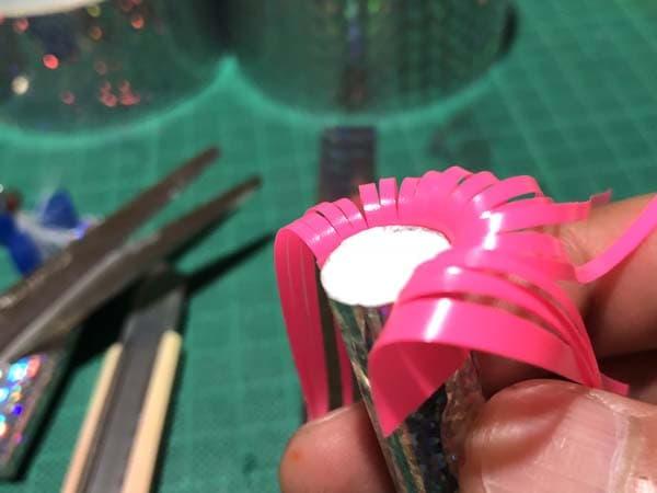 アキアジの投げ釣り用発泡フロートを作る008