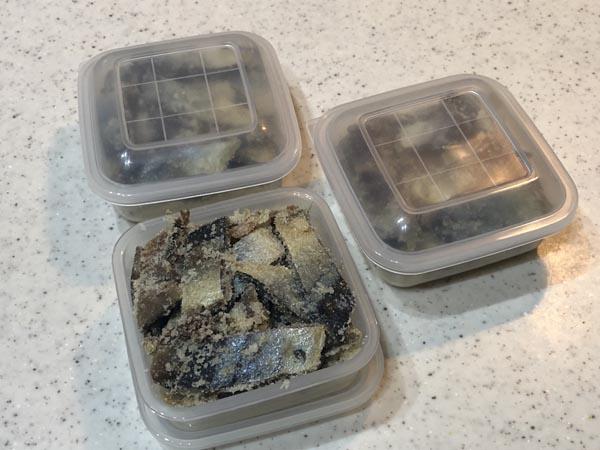 アキアジ(鮭)釣り用 爆釣サンマ餌の作り方000
