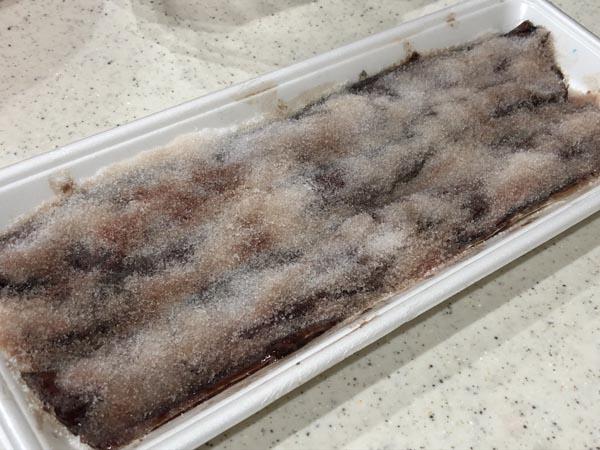 アキアジ(鮭)釣り用 爆釣サンマ餌の作り方003