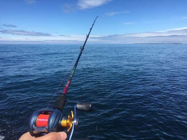 初めてのベイトタックル釣行001