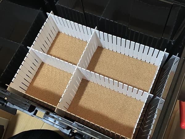 リングスターのドカットを改造してタックルボックスを作ってみよう009