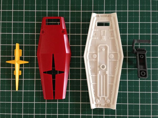 HGUC RX-78 REVIVE版 組立レビュー031
