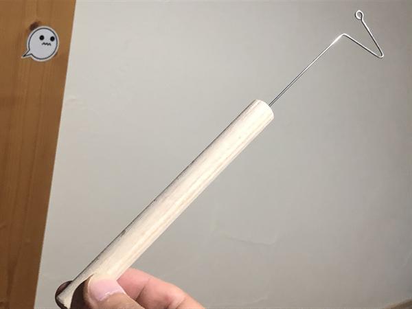 サビキ釣り用針外し(フックリリーサー)の作り方003