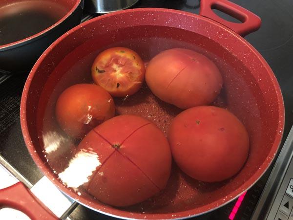 イタリアンなトマトベースの豚角煮の作り方001