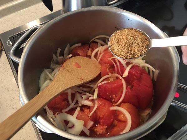 イタリアンなトマトベースの豚角煮の作り方008