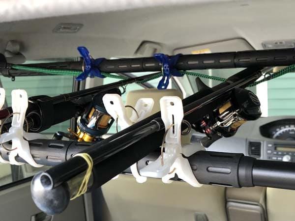 軽自動車(ムーヴ)用ロッドホルダーの作り方000