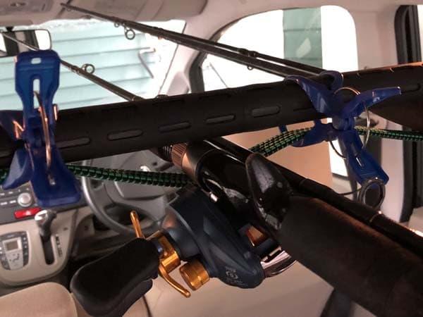 軽自動車(ムーヴ)用ロッドホルダーの作り方012