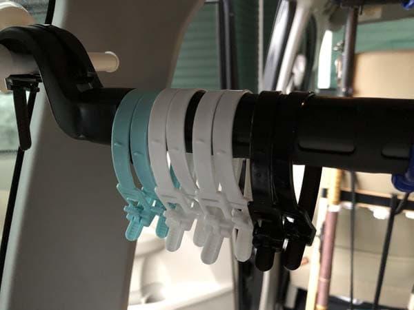 軽自動車(ムーヴ)用ロッドホルダーの作り方015