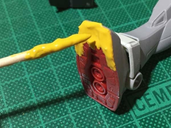 REVIVE HGUC RX-78-2 ガンダム製作写真 肉抜き埋め戻し02