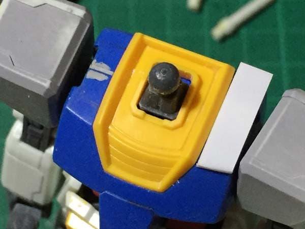 REVIVE HGUC RX-78-2 ガンダム製作写真 胴肩調整02