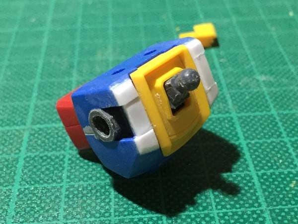 REVIVE HGUC RX-78-2 ガンダム製作写真 胴肩調整04