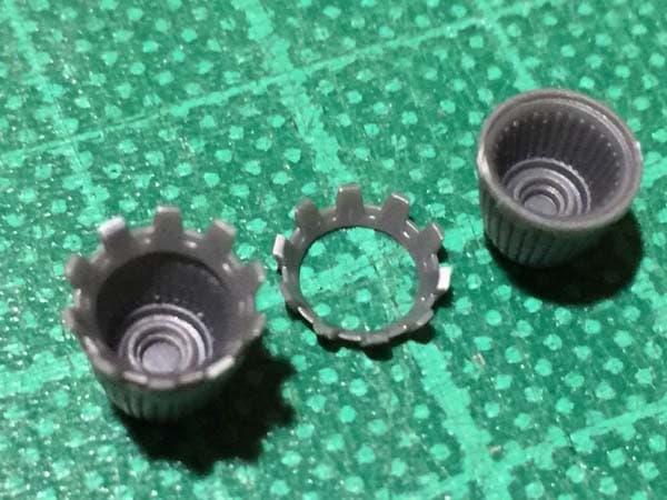 REVIVE HGUC RX-78-2 ガンダム製作写真 メインスラスター交換02