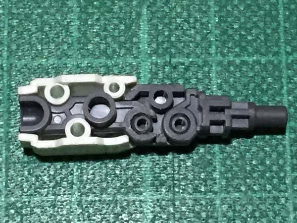 REVIVE HGUC RX-78-2 ガンダム製作写真 下腕後ハメ04