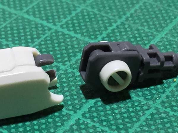 REVIVE HGUC RX-78-2 ガンダム製作写真 下腕後ハメ07