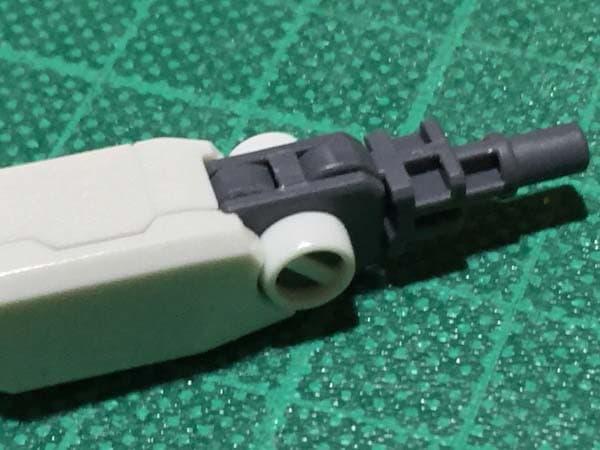 REVIVE HGUC RX-78-2 ガンダム製作写真 下腕後ハメ08