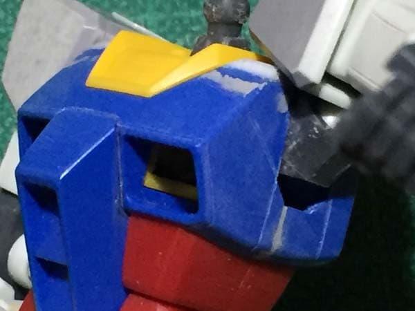 REVIVE HGUC RX-78-2 ガンダム製作写真 各部スジ彫り04