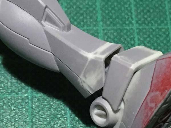 REVIVE HGUC RX-78-2 ガンダム製作写真 各部スジ彫り06