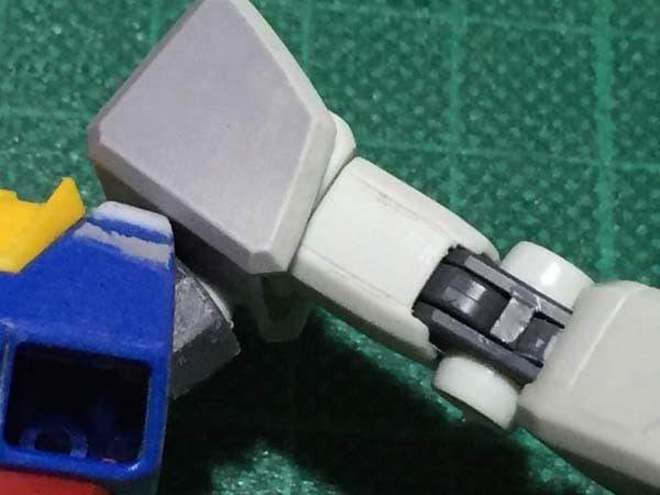 REVIVE HGUC RX-78-2 ガンダム製作写真 各部スジ彫り07