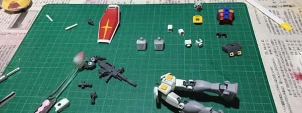 REVIVE HGUC RX-78-2 ガンダム製作記事共通アイキャッチ