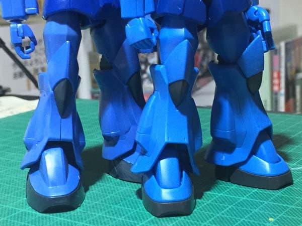 HGUC REVIVE グフ パチ組レビュー224 腕部 全体組立 旧HGUCグフと比較 脚部