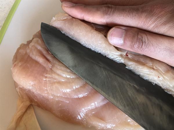 サラダチキン(サラチキ/鳥ハム)の作り方003