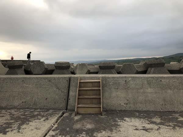 瀬越海岸で人生初のヒラメゲット001