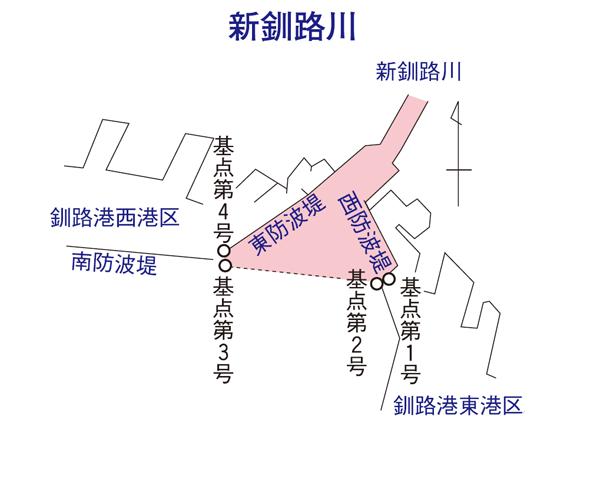 新釧路川河口規制範囲2021年版