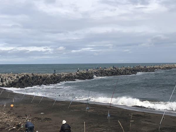 常呂漁港で銀ピカアキアジのメス70cmオーバーゲット005